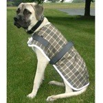 High Spirit Plaid Dog Coat with Reflective Binding