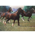 The Heavy Brigade Card 6 Pack (Draft Horses)