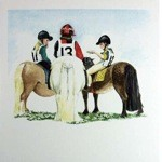 Honestly Card 6 Pack (Jockey & Horse)