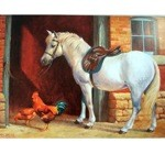 White Pony Card 6 Pack