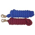 10' Cotton Lead Rope With Bull Snap