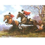 Over the Hedgerows Card 6 Pack (Fox Hunting)