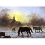 Winter Glow Card 6 Pack (Draft Horse)