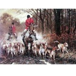 Leaving Covert Card 6 Pack (Fox Hunting)
