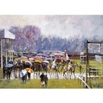 Cottenham in the Rain Card 6 Pack (Horse Racing)