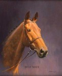 Best Mate Print (Horse) by Barrie Linklater