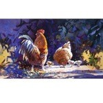 Family Outing Print (Chickens)