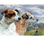 Old Friends Print (Jack Russell)