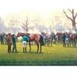 After The Last Print (Horse Racing) by Neil Cawthorn