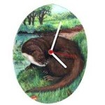 River Otter Clock