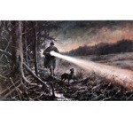 Evening Out Print (Lurcher)