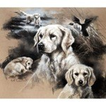 When I Grow Up Print (Golden Retriever)