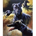 Black Magic Print (Lurcher)