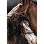 Thunder & Lightning Print (Draft Horse) by Angela Davidson