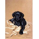 Home Comforts Print (Labrador Retriever)