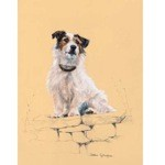 Viewing Point Print (Jack Russell)