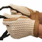 Crochet Back Gloves