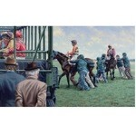 Reluctant Participants Print (Horse Racing) by Roy Miller