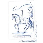 Na Pali Print (Dressage) by Jan Kunster
