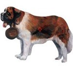 Saint Bernard Clock