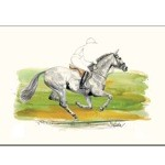 Perry Print (Cross Country Horse) by Jan Kunster