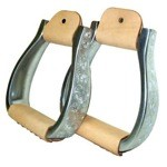 Modified Oxbow Engraved Stirrups